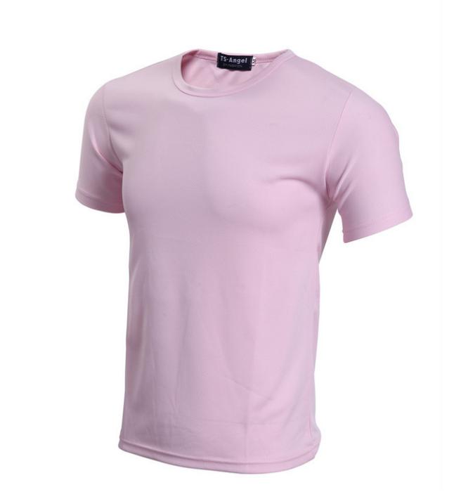 SKT001  製作純色運動T恤 供應吸濕排汗T恤 網上下單運動衫  190G全滌針孔布 運動衫製造商 T恤價格