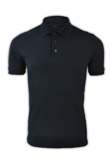 純色 寶藍099短袖男裝Polo恤 1AC03  男裝純色polo恤 DIY polo恤 polo恤生產廠家 T恤價格