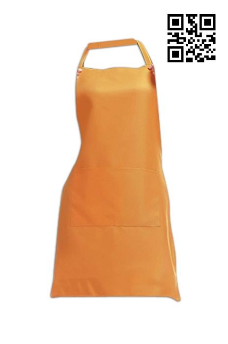 SKA007  橙色圍裙   供應訂做圍裙  圍裙中心 圍裙價格