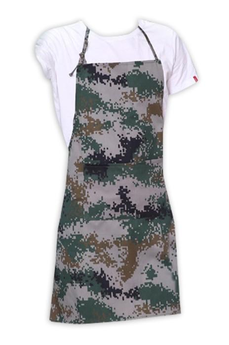 SKAP030  供應迷彩圍裙  滌棉布料超級耐臟耐磨  畫室學生防塗染防汗圍裙 圍裙專門店 迷彩牛仔