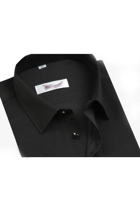 SKR016  自製修身短袖恤衫款式   製作職業恤衫款式    訂做男裝短袖恤衫款式    短袖恤衫生產商