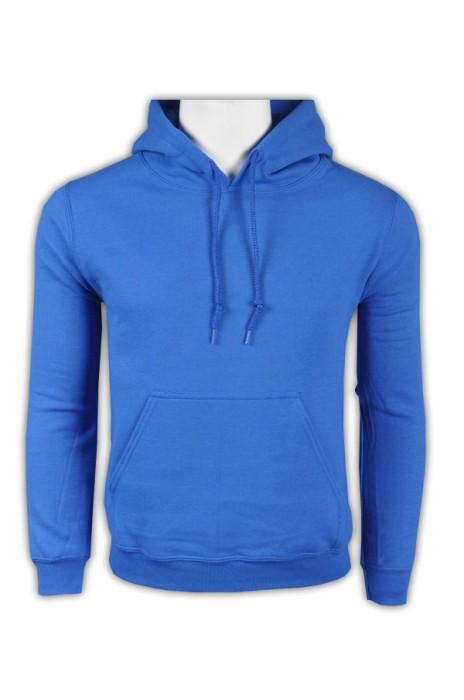 gildan 彩藍色51C男裝有帽衛衣 88500 供應訂購潮版運動衛衣 個性休閒衛衣 衛衣生產商   衛衣價格