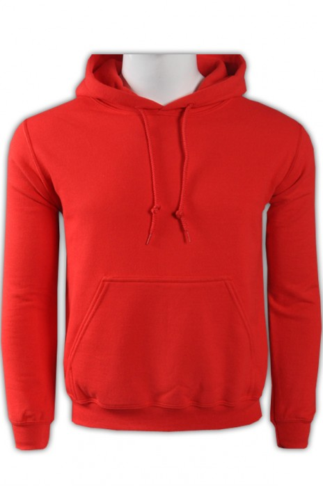 gildan 紅色40C男裝有帽衛衣 88500 度身訂製DIY團體衛衣 創意連帽衛衣 衛衣生產廠家   衛衣價格