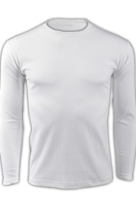 printstar 白色001長袖男裝T恤 00101-LVC 設計訂製DIY純白T恤 個性團體T恤 T恤專門店  T恤價格