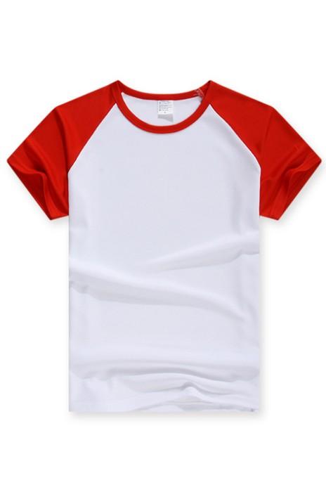SKT008 運動速乾網眼面料牛角袖T恤