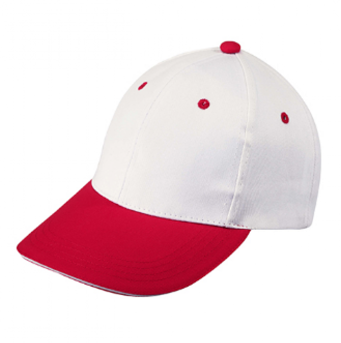 1LE03 大紅色030拼色棒球帽   度身訂做棒球帽  棒球帽供應商 帽價格 棒球帽價格