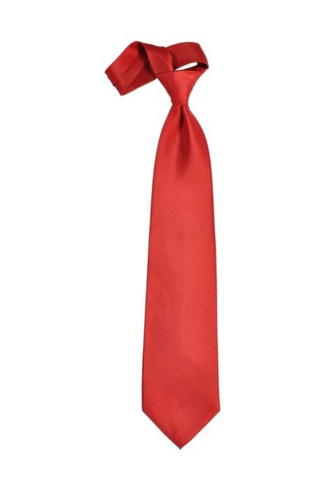 TI103 大紅色領呔   度身訂製領呔  領呔制服公司 領呔價格