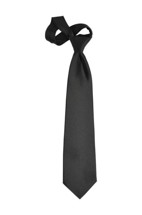 TI106 黑色領呔   來樣訂造領呔  領呔製造商 領呔價格