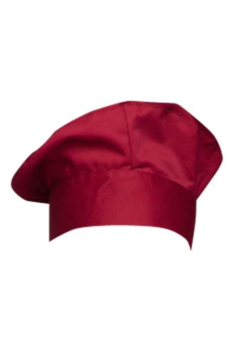 CHFH-002 多色廚師帽   設計廚師工作帽 訂購酒店餐廳廚房工作帽  製造男女服務員帽子 廚師帽供應商  35%棉65%滌 廚師帽價格