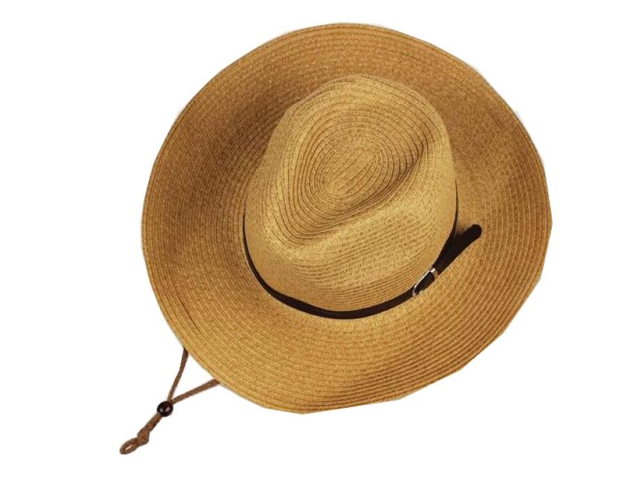 SKB003 設計西部牛仔帽草帽款式    自訂可折叠草帽款式   可折叠  折叠式   訂做遮陽草帽款式   草帽中心