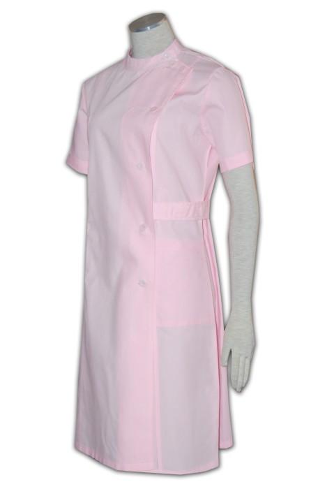 SKNU001 護士服來樣訂做 醫療護士裙 護士服中心 護士服香港製作  舒特呢  護士服價格