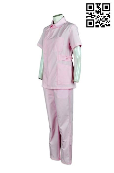 SKNU008 量身訂做診所制服  來樣訂做醫院護士服  訂購醫院套裝制服  護士服批發商HK  舒特呢  護士服價格