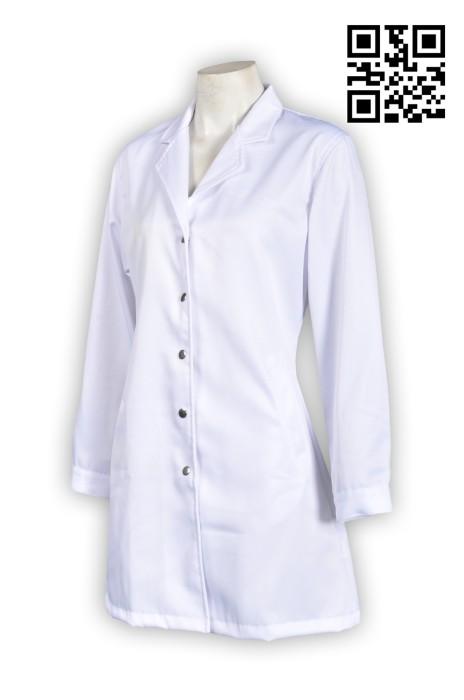 SKUN016  製作團體醫身掛袍 提供醫生裙 長身醫生裙, 醫身掛袍製造商  舒特呢  醫生裙價格