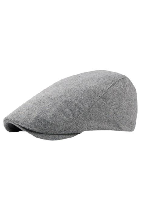 SKBH03  訂購帽子毛呢鴨舌貝雷帽   製造復古英倫畫家帽  純色貝雷帽   畫家帽製造商