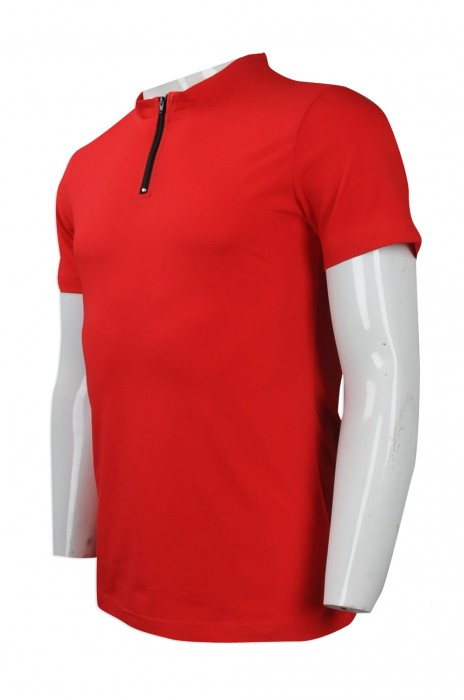 P822 來樣訂造企領拉鍊 POLO 網上下單淨色Polo恤 設計Polo恤 Polo恤制服公司