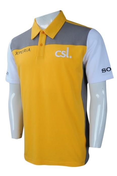 P957 來樣訂做POLO恤 製作員工制服POLO恤 電訊行業 電話銷售 員工制服POLO恤製衣廠