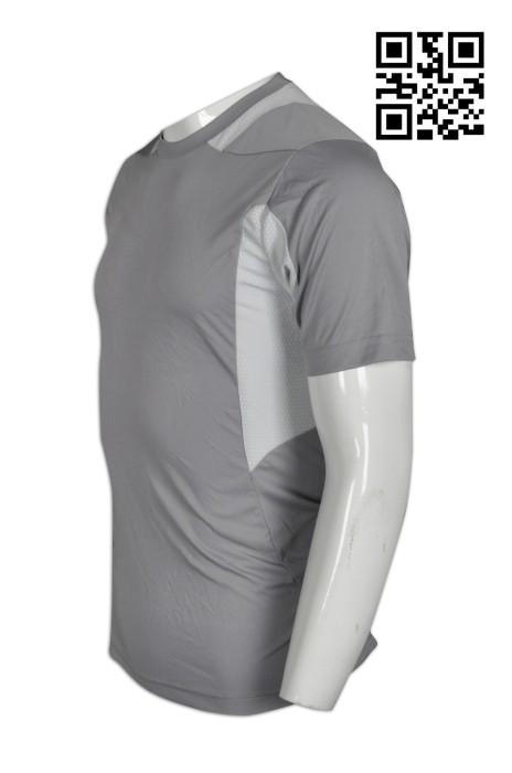 W194 設計緊身男士運動衫  供應緊身修身運動衫  訂購輕薄透氣運動衫 運動衫專門店000
