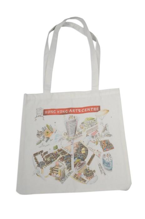 EPB024 設計印花帆布袋 製作帆布袋 數碼印 香港藝術中心 訂製帆布袋批發商