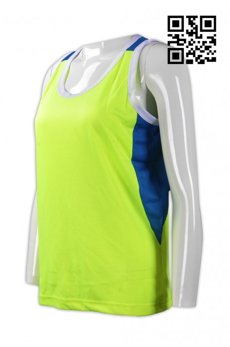 VT139訂造度身背心款式   設計女裝背心款式   自訂拼色背心款式   背心製衣廠