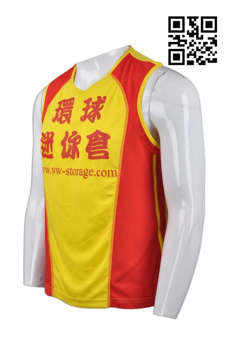 VT141 供應吸濕排汗背心T恤  製作運動專用背心T恤 來樣訂造背心T恤 背心T恤供應商