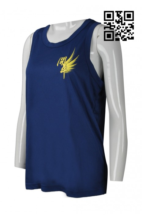 VT161  訂製吸濕排汗背心T恤 設計長跑專用背心  長跑背心 來樣訂造背心T恤 背心T恤供應商