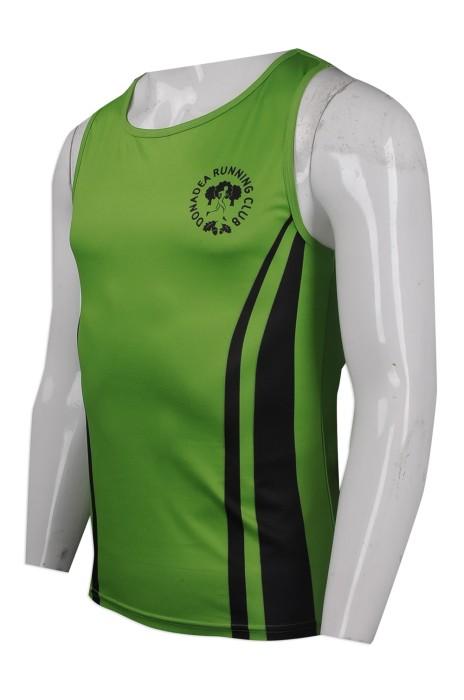 VT175 大量訂做背心T恤 設計背心T恤 自製logo背心T恤款式 愛爾蘭 跑步背心 背心T恤製造商