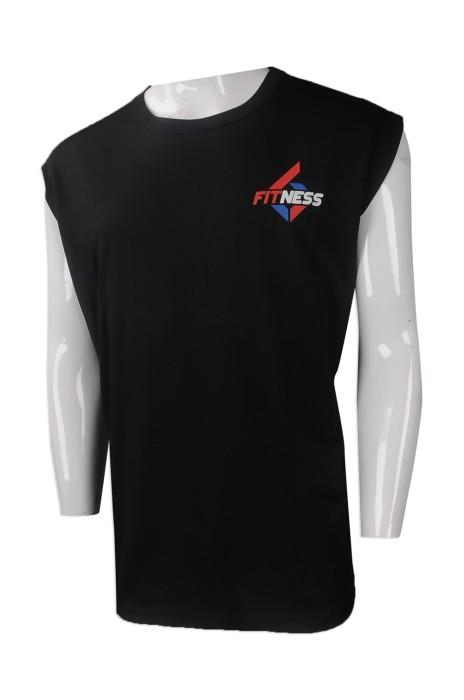 VT205 大量訂做運動背心T恤 來樣訂造運動背心T恤款式 香港 健身中心 運動背心T恤專營店