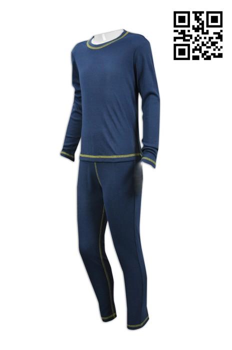 WTV128 訂製緊身運動套裝   設計童裝運動套裝   訂做舒適運動套裝  運動套裝專門店