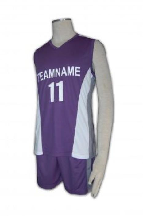 WTV107 排球衫訂做 排球衫印字 波衫 旺角 香港波衫鋪