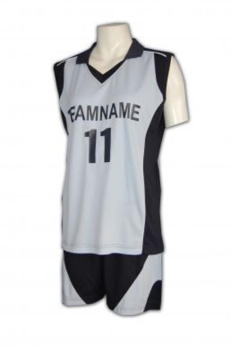 WTV112 長跑衫訂造 長跑衫製作 波衫 印字 學界 沙灘排球服印製HK