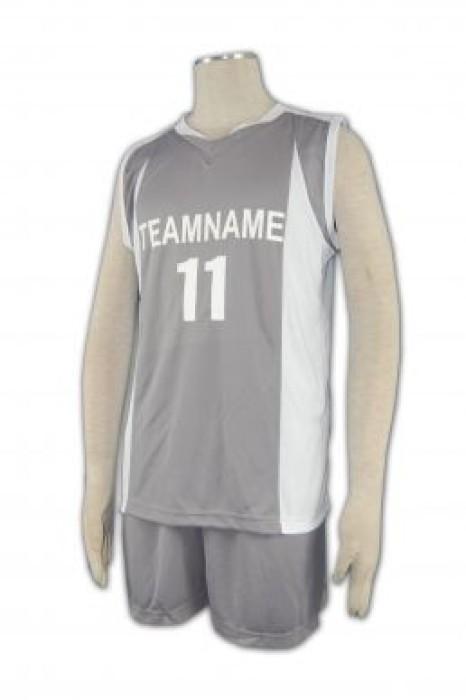 WTV117 排球衫訂做 籃球波衫 學界 組隊波衫 排球衫印字