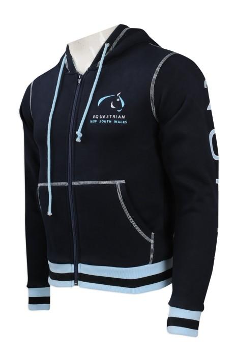 Z363 大量訂做男裝衛衣款式 自製繡花logo款男衛衣 澳洲 衛衣制服公司