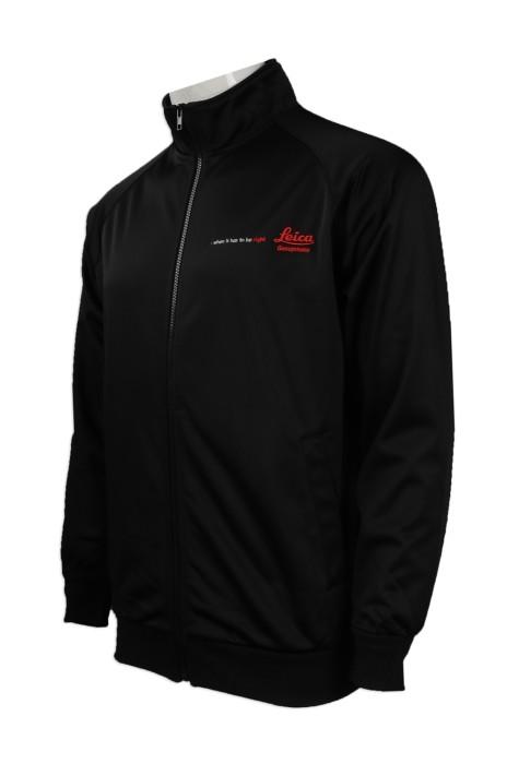 J726 度身訂製風褸外套款 大量訂購風褸外套 設計繡花logo風褸外套製造商