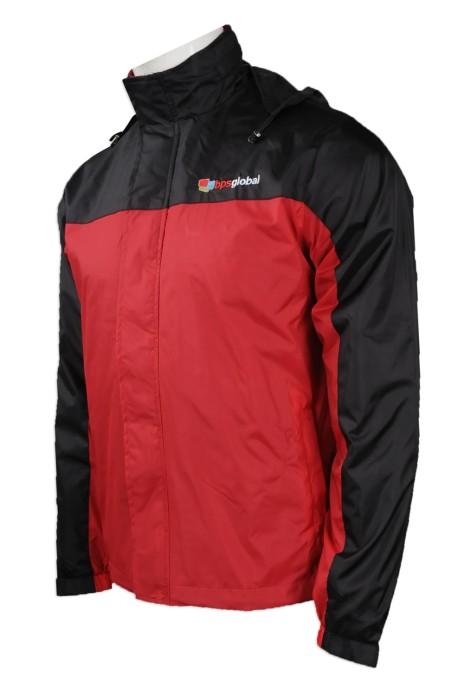J732 來樣訂做風褸外套款式 網上下單風褸外套 Varsity jacket  室內設計 裝修工程風褸外套供應商