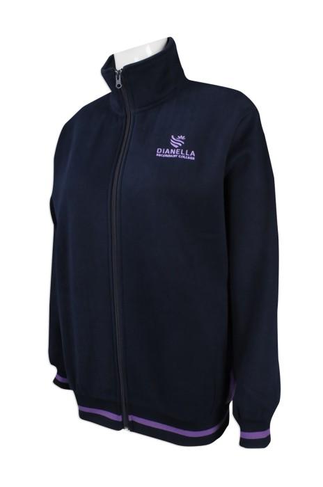 J737 度身訂製風褸外套 訂造員工制服風褸外套  澳洲 Tudor perth 中學校服 風褸外套製衣廠