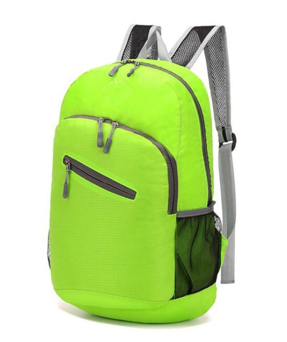 FB003 設計登山折疊包款式   自訂雙肩折疊包款式  運動背包  可收縮背囊 輕便 收縮袋 收納背包 訂做輕便折疊包款式   折疊包專營