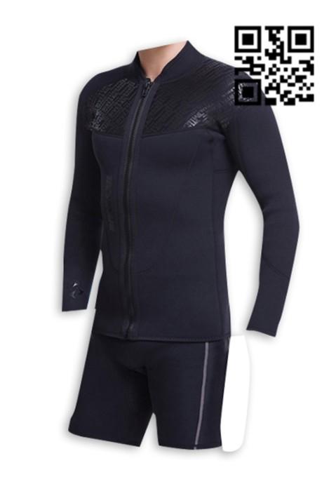 ADS002 設計保暖潛水衣款式    自訂分體潛水衣款式   訂做潛水衣款式   潛水衣中心  棉綸  潛水衣價格
