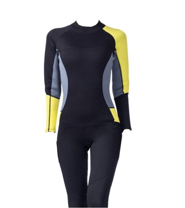 ADS019  自訂抗菌潛水衣款式   設計女士潛水衣款式  3MM  製作連體潛水衣款式  潛水衣生產商 女裝潛水衣 女裝潛水褲
