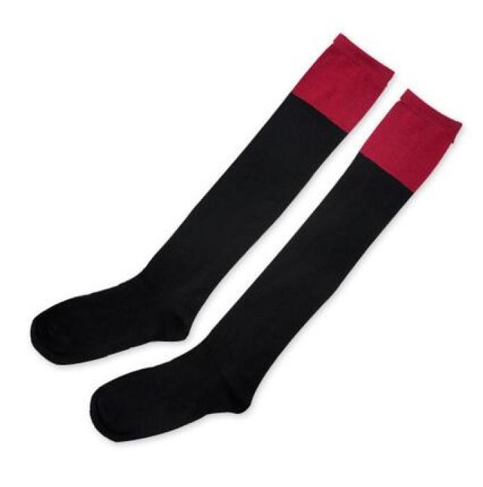SKSG002 訂製度身長襪款式   製造拼色長襪款式   設計長襪款式   長襪中心  長襪價格