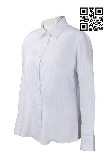 R223 自訂大量恤衫款式   設計女裝恤衫款式   澳門氣象局  訂製公司恤衫款式   恤衫生產商