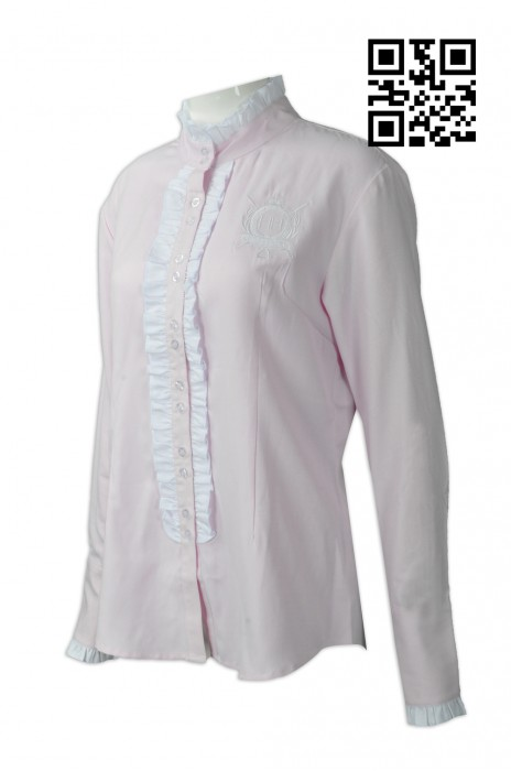 R226 製作時尚女款恤衫  澳洲  HH 大量訂造T恤 網上下單恤衫 恤衫製衣廠