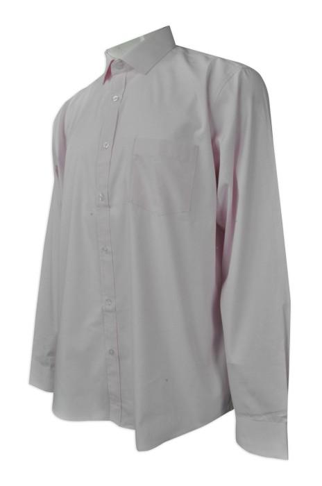 R231 設計男裝長袖恤衫   網上下單大碼恤衫   來樣訂造恤衫  恤衫製造商