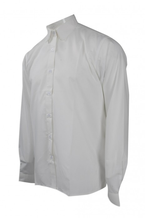 R246 度身訂製員工款恤衫 大量訂購淨色恤衫款 力豐超柔超細旦 設計淨色恤衫供應商