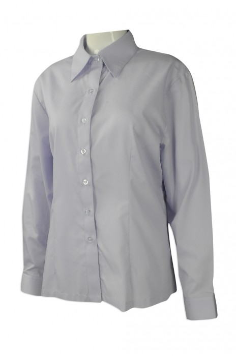 R261 度身訂做長袖恤衫 團體訂購修身恤衫款式 澳門 印務局 設計修身恤衫供應商
