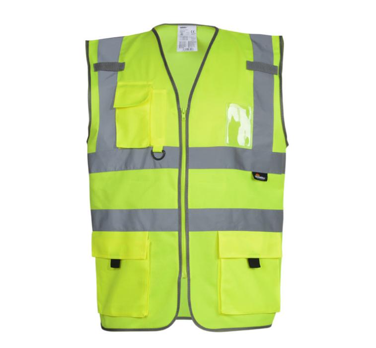 SKVT002 訂製反光背心馬甲 設計安全工作服  訂製螢光勞保騎行背心 反光背心製衣廠  反光背心價格
