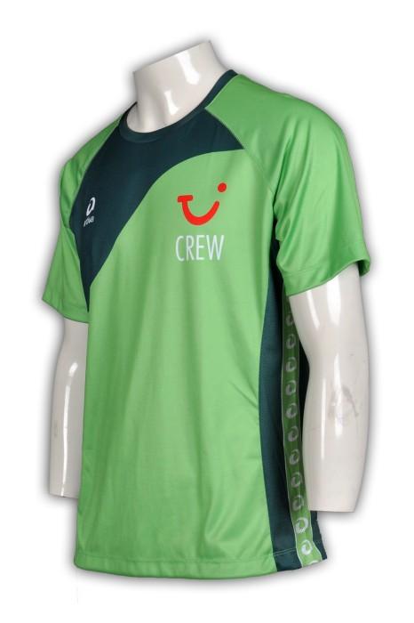 T311 訂購熱升華Tee  來樣訂製數碼t-shirt  羽毛球 乒乓球 自訂團體熱升華供應商