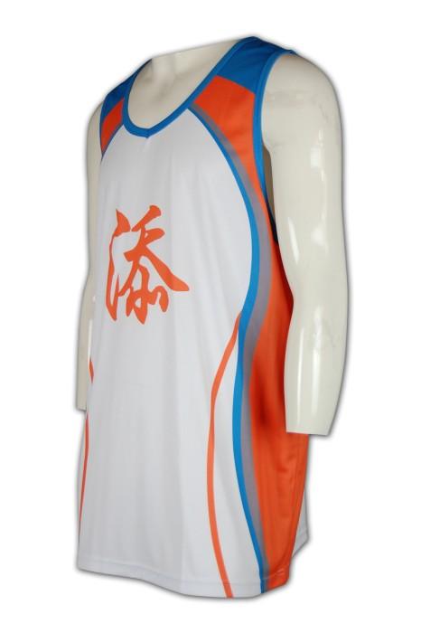 VT131 訂做熱升華球服背心  熱升華衫在線訂購 團購數碼印背心  專業訂製熱升華背心公司