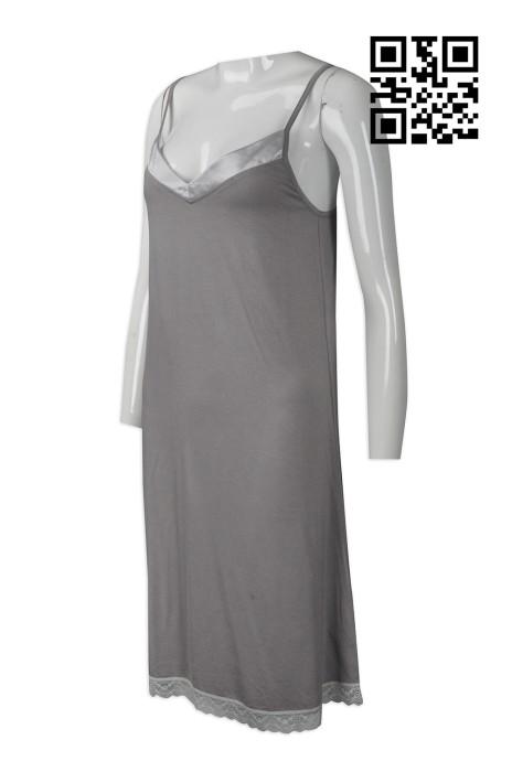 FA340  製作度身時裝款式    自訂蕾絲邊連衣裙時裝款式  連身裙  訂做女士時裝款式    時裝款專門店