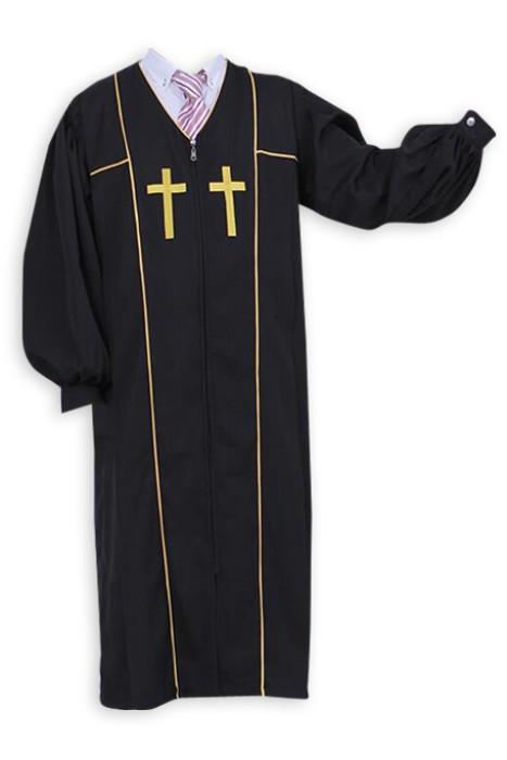 SKPT004  自製教會牧師服款式   設計基督教牧師服款式    訂造牧師服款式   牧師服製衣廠