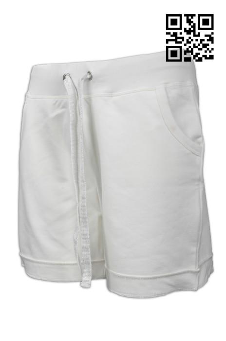 U270 訂造淨色運動褲款式    設計舒適運動褲款式  粗帶銅扣  自訂運動褲款式   運動褲中心